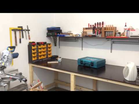 Fitting out my new workshop ( organization)