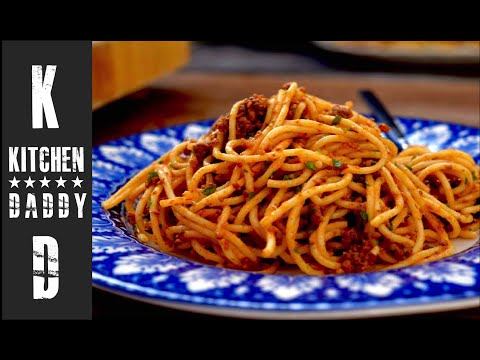 Spaghetti Bolognese | Kitchen Daddy