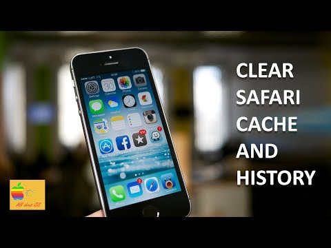 How to clear cache and history for safari browser in your iPhone, iPad
