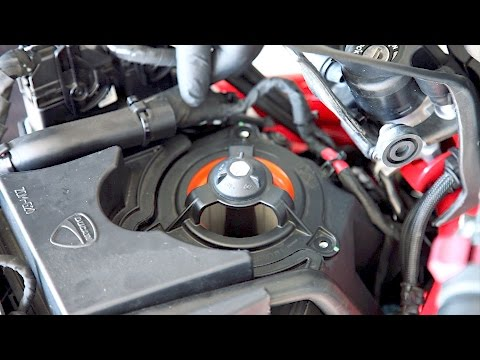 Ducati Monster 821 | Air Intake Filter Clean / Replace / Fuel Tank Removal