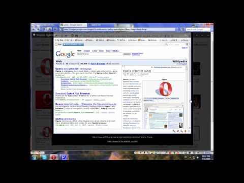 Opera 10.5 with skin Z1-Glass | 100% transparent
