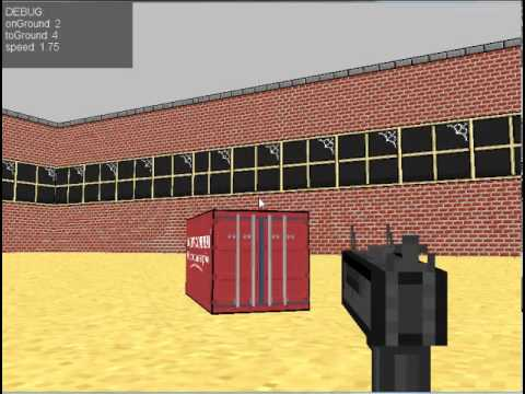 Untitled FPS Game - Engine Test and concept graphics