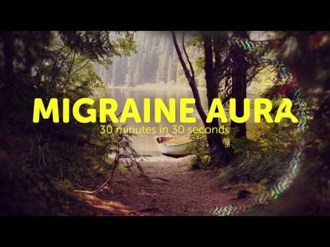 What a Migraine Aura looks like