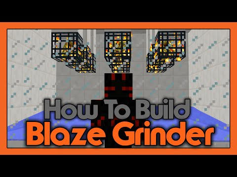 How To Build a Blaze Grinder! (Using Spawners)