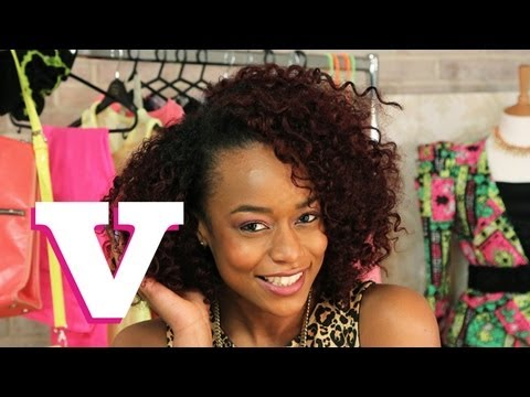 How To Maintain Curly Afro Hair - Models' Corner