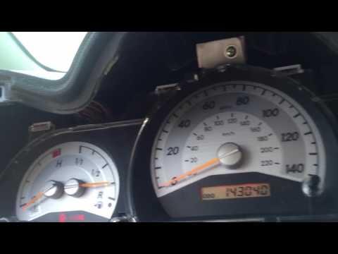 Scion tC removing speedometer cluster