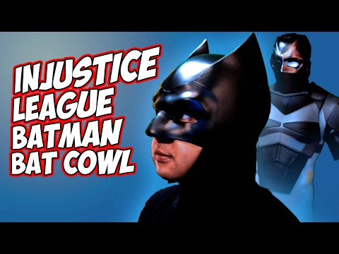 BATMAN InJustice League how to foam Bat cowl