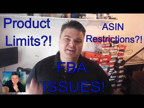 ASIN Restrictions and Product Limits on Amazon.com FBA Shipments! | March 2016.