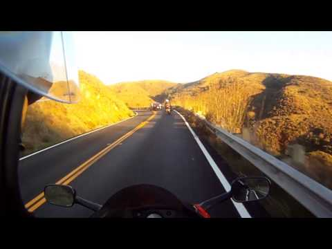 Motorcycle Highlight Reel: San Francisco to Muir Woods - VFR 800 and Norge