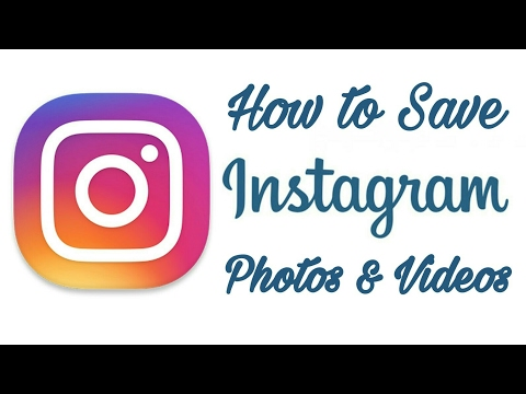 How to Save Instagram Photos from Phone | Instagram | Tutorial to save the Image