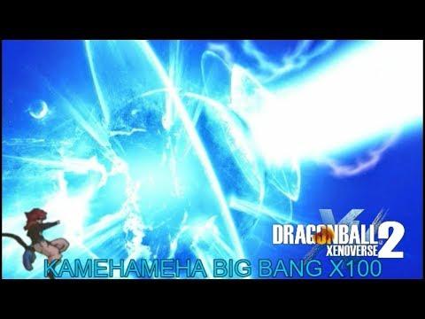 Dragon Ball Xenoverse 2 Big Bang Kamehameha X100 Como conseguir