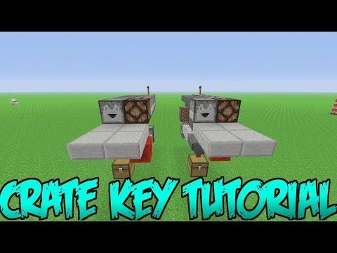 Minecraft PS3 & Xbox 360 - Crate Key Tutorial! Super Small Design! - (PS4/Xbox One)