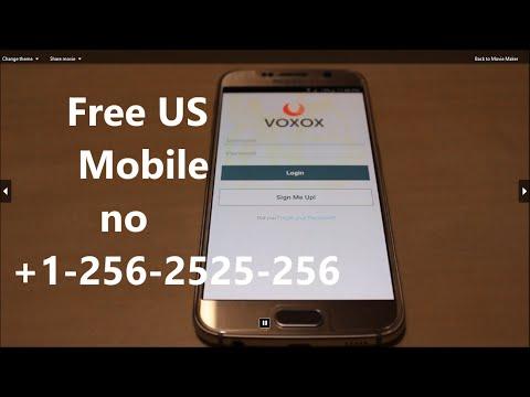 Grab Free US Mobile No !