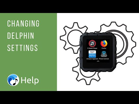 Changing Delphin Settings