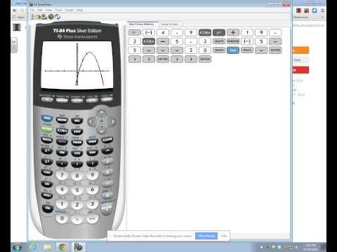 Find the X-Intercepts (zeros) of a Graph on a TI-83 or TI-84 Plus Calculator