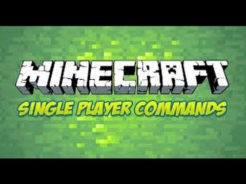 Minecraft Single Player Commands Part 2!! Explode, Descend, Enchant, Spawnpoint, Home, and Health!