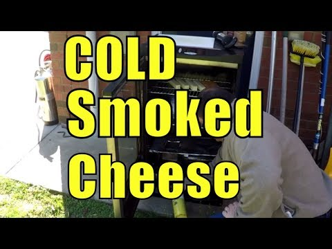 Smoking Cheese on the Masterbuilt with a Wedgie