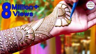 Beautiful Arabic Henna Designs | Mehndi Designs by Jyoti Sachdeva.