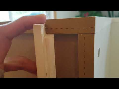 Reinforcing IKEA Sektion cabinets with wood brace