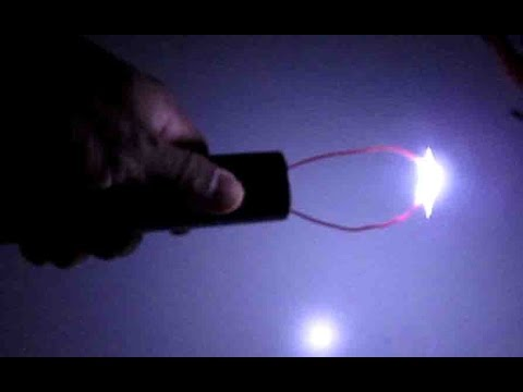 DIY: Make a Taser Gun -Sparks Generator/Ignitor + LED Flash light for less than $4, powered by 18650