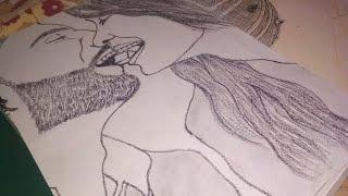 Download Chocolate 🍫 Day Special Couple Sketch - Art Guruji Video