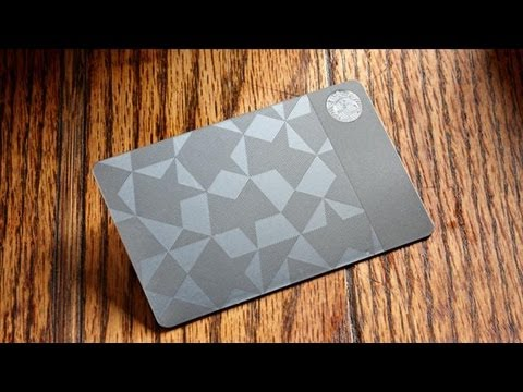 For Holidays, the $450 Steel Starbucks Card