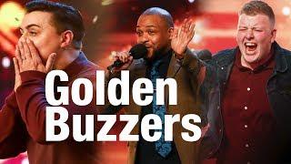 ALL Golden Buzzers BRITAINS GOT TALENT 2018
