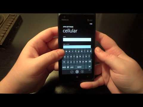How-To Fix the Lumia 900 Data Connection Problem