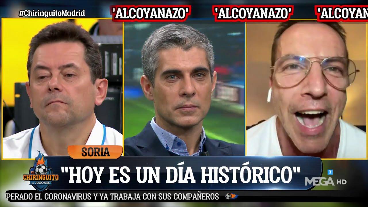 SORIA se ríe de los MADRIDISTAS tras la HUMILLACIÓN ante el ALCOYANO