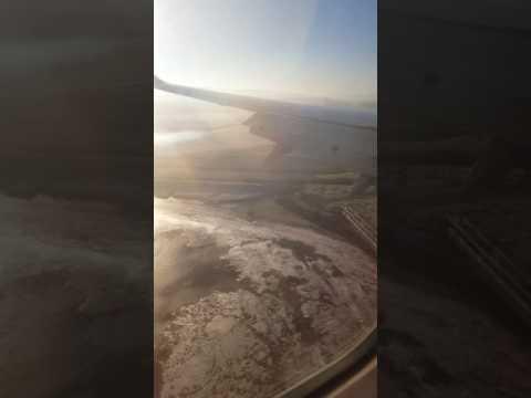 Misty landing in derry airport