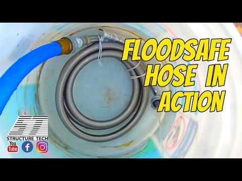FloodSafe hose in action