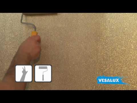 VESALUX Go Glitter | Shimmering Glitter Paint for Walls