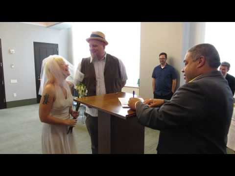 Getting Married at City Hall!