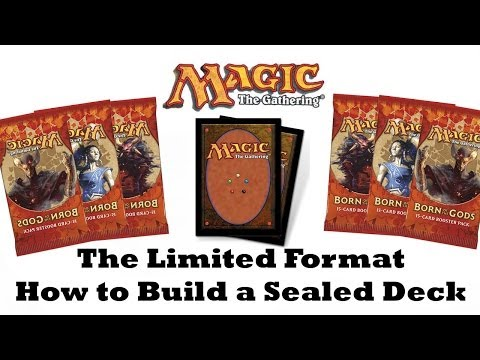 MTG Limited: How to Build a Sealed Deck