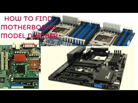 how to find motherboard name and model number using cmd in windows 7 8 8.1 and 10