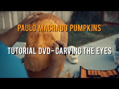 3D Pumpkin Carving - How To Carve Eyes - [EXCERPT]