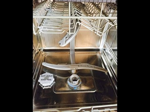 What is up with my European Dishwasher ?