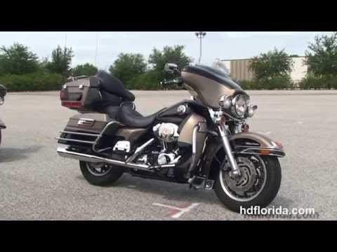 Used 2004 Harley Davidson Ultra Classic Electra Glide Motorcycles for sale - Miami, FL
