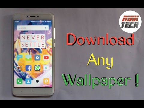 How to download any wallpaper for Smartphone | Easily | in Hindi