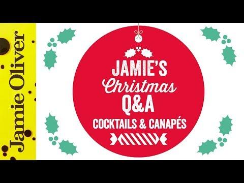 Jamie Oliver's Christmas Q&A #3 | Cocktails & Canapés WAS Live