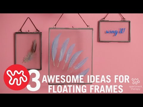 Frame Yourself: Floating Art On Your Wall