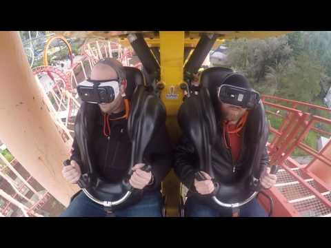 Galactic Attack POV - The interactive VR real life roller coaster