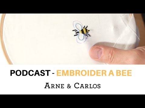 ARNE & CARLOS talk about inspiration while embroidering a bee Podcast
