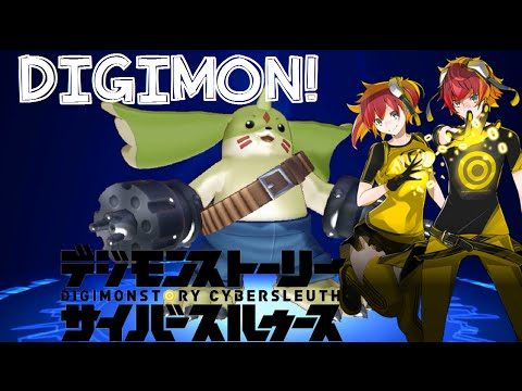 Digimon Story: Cyber Sleuth Access Point, Digi-Evolution, Battle Review Thoughts! (English)