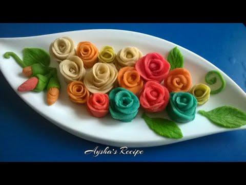 How to make Rose Flower Pitha (গোলাপ পিঠা তৈরীর সবথেকে সহজ কৌশল)