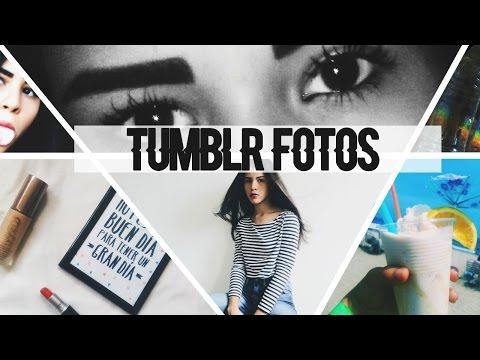 CÓMO SACAR Y EDITAR FOTOS ESTILO TUMBLR//HOW TO MAKE PICTURES TUMBLR📷