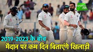 In New FTP Indian Cricket Team to Play More Number of T20s and ODIs   Sports Tak