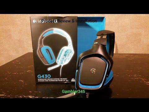 Logitech G430 Install + Review