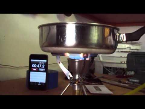 Homemade propane stove Mk2