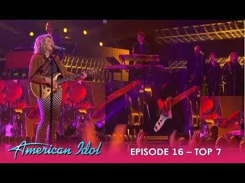 Maddie Poppe: BREAKS-OUT Of Her Songwriter Shell With THIS Performance! | American Idol 2018